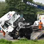 Polak nie przyznaje się do spowodowania wypadku na M1 – przyzna się tylko do jazdy po alkoholu