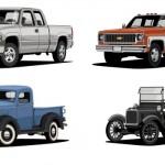 Pickupy marki Chevrolet świętują 100 lat obecności na rynku – zobacz jak ewoluowały ich nadwozia