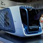 Samochód dla kurierów wożących sześciokątne paczki, czyli futurystyczne Isuzu FD-SI