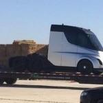 Ciężarowa Tesla sfotografowana miesiąc przed premierą – to nowość także pod względem sylwetki