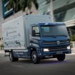 Elektryczna ciężarówka marki Volkswagen, która od 2020 roku trafi do powszechnej sprzedaży