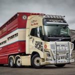 Jubileuszowe Volvo FH16 750 Ailsa Edition – to już siódmy ciągnik o tej mocy w pewnej firmie z UK
