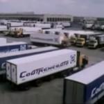 Reklama Sovtransavto z końca lat 80-tych – radzieckie ciężarówki jeździły od Hiszpanii aż po Irak