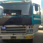 Trasa z Belgii do Azerbejdżanu na potrzeby Ligi Mistrzów i irańskie ciężarówki zastane na odprawie celnej