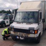 """Dostawczy weterani w komunikach ITD – KIA K2900, Mercedes """"Kaczka"""" oraz Volkswagen LT28"""