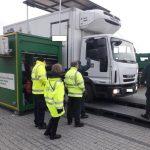 BAG towarzyszyło kontrolom stanu technicznego w Polsce, ITD poznało radiowóz do zdalnych kontroli