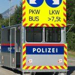 Ciężarówki będą wpuszczane do Austrii co 12 sekund – ilościowe zakazy z automatycznymi szlabanami
