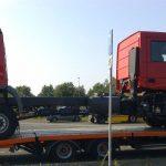 Ciężarówka z dwiema kabinami, dopiero czekająca na zabudowę – nietypowe zjawisko z Bremen