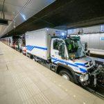 Dwa połączone ze sobą Unimogi zamiast małej lokomotywy – wspólnie przeciągną 200-tonowy skład